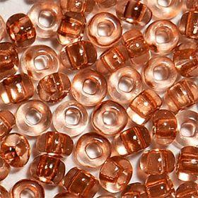 Бисер чешский 01112 прозрачный коричневый блестящий Preciosa 1 сорт