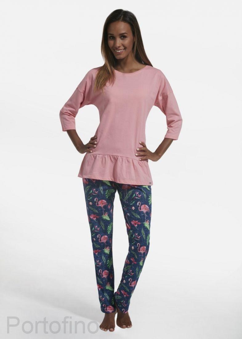 183-200 Пижама женская длин.рукав Cornette