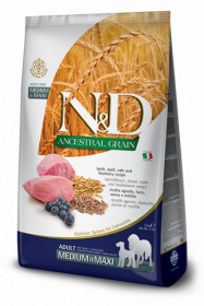 N&D Low Grain LAMB & BLUEBERRY Adult medium&maxi (ягненок+черника для взрослых собак средних и крупных пород)