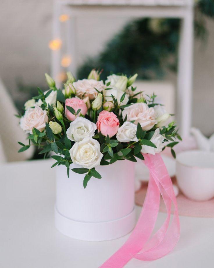 """Коробка с цветами """"Флирт"""""""