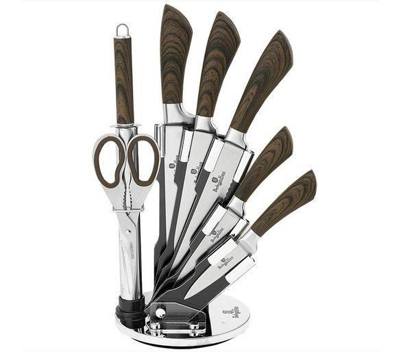 ВН-2290 Infinity Line Набор ножей на подставке 8 пр.