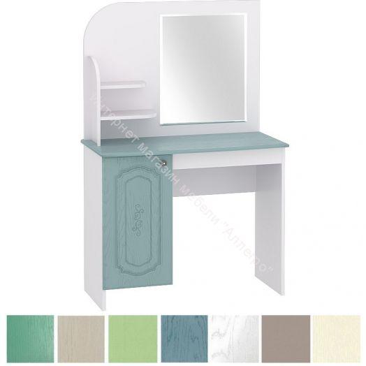 "Стол туалетный с зеркалом новый ""Оскар""  МДФ кат.3"
