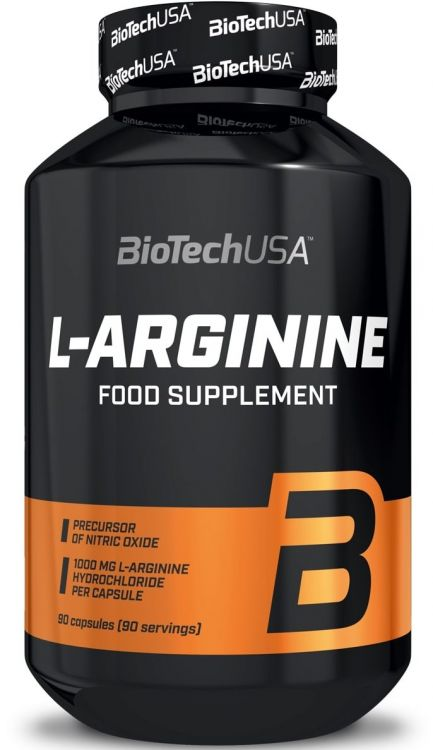 L-Arginine от BioTech 90 кап