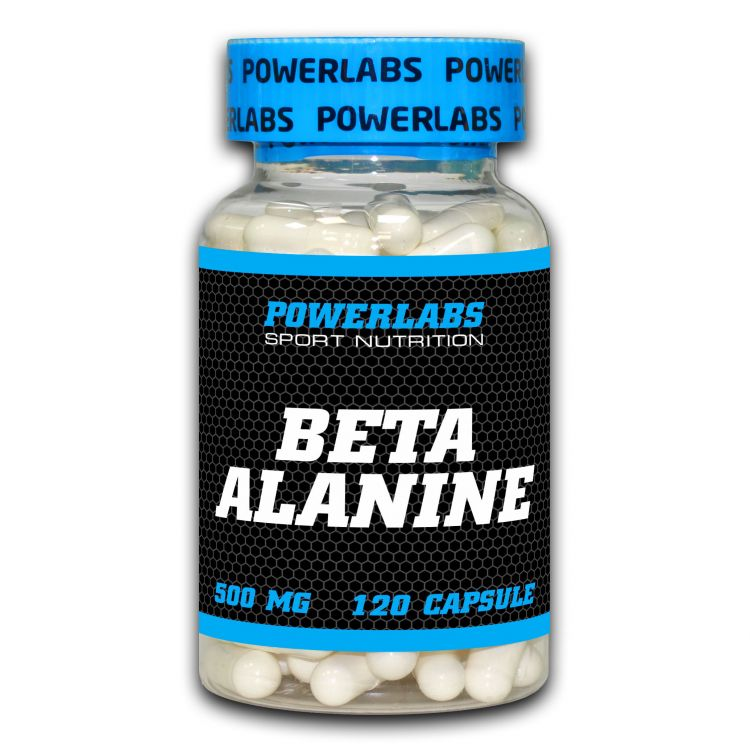Beta Alanine от POWERLABS 120 капсул