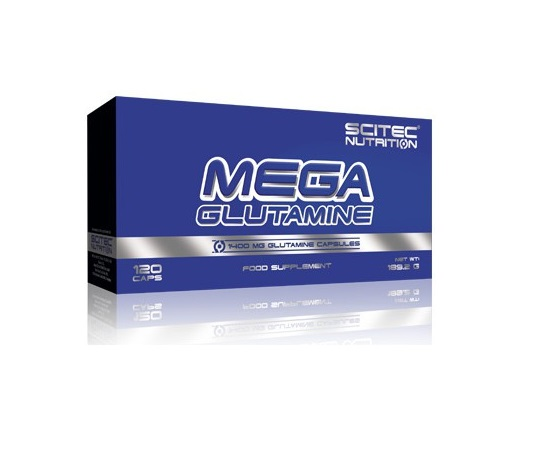 MEGA GLUTAMINE SCITEC NUTRITION 120 кап
