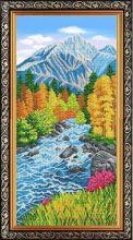 К-3553 Благовест. Горная Река. А3+ (набор 2025 рублей)