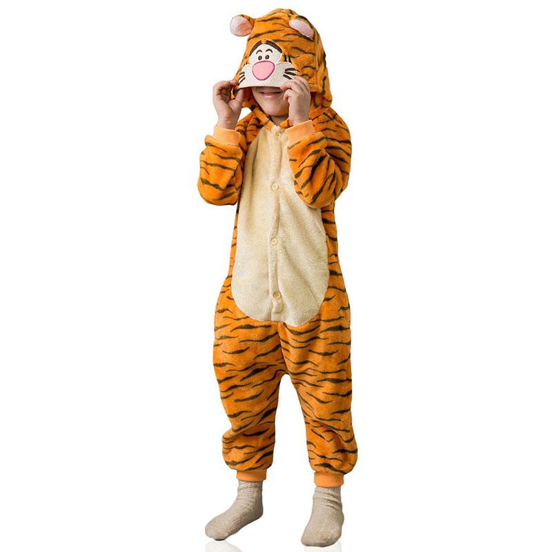 Детская Пижама Кигуруми Тигра