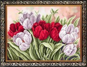 К-2026 Благовест. Тюльпаны. А2 (набор 3200 рублей)