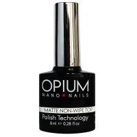 Финишное покрытие OPIUM Matte Top без липкого слоя, 12 мл