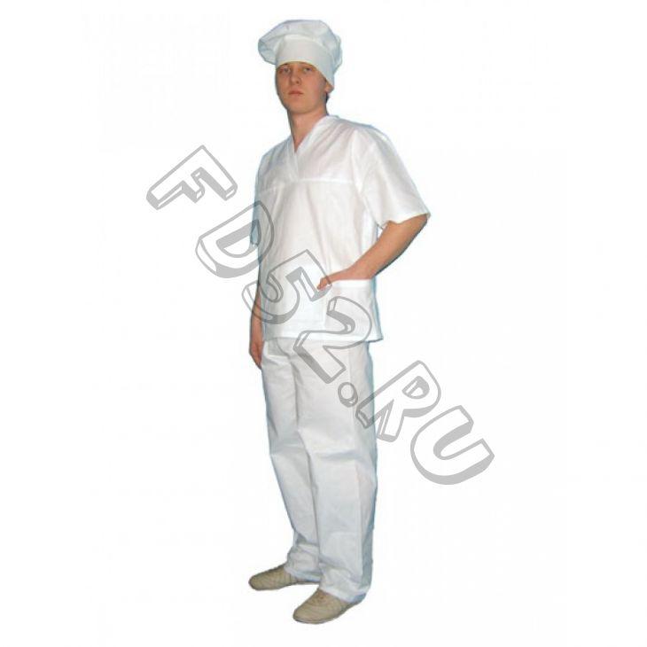 Костюм пекаря бязь ГОСТ Куртка+брюки арт. СС17/18