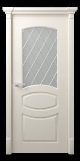 Межкомнатная дверь Аделина Стекло Рим