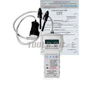 Поверка прибора для измерения параметров выключателей, управляемых дифференциальным током