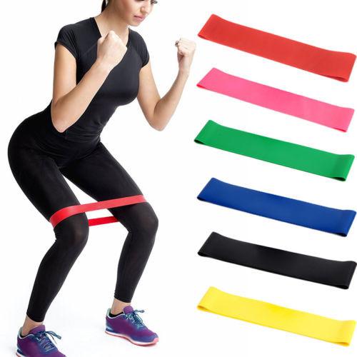 Набор резинок для фитнеса различной нагрузки, 5 шт