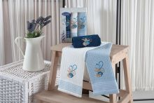 "Комплект салфеток  вафельных ""KARNA"" MARINE 40x60 - 3 шт.  Арт.3023-3"