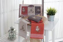 "Комплект салфеток  вафельных ""KARNA"" SIOUS 40x60 - 3 шт.  Арт.3031"