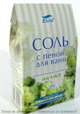 ELITE.Соль с пеной для ванн - Пихта 500гр. (пачка), шт