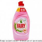 """FAIRY Нежные руки.Средство для мытья посуды """"Розовый Жасмин и Алоэ Вера"""" 450мл, шт"""