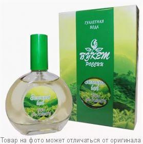 Букет России      Зеленый ЧАЙ.Туалетная вода 40мл (жен), шт
