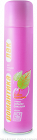 Романтика.Лак для волос ос/ф с В-керотином 200мл (розовый, карат) 270 см3, шт