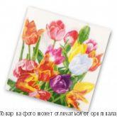 """Салфетки бумажные 2-х сл. 33х33 (20шт.) """"Тюльпаны"""", шт"""