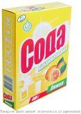 Сода кальценированная Лимон 400гр карт/п, шт