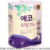 Туалетная бумага Корея 1/30шт (LIVING) 22м, шт