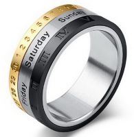 кольцо календарь крутящееся