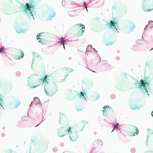 Хлопок Перкаль Бабочки 50х40