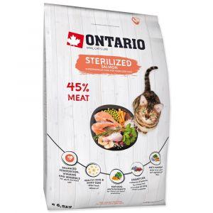 Ontario Для стерилизованных кошек с лососем