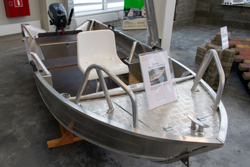 Лодка алюминиевая ВИЗА Алюмакс-355Р