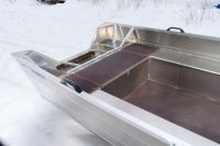 Лодка алюминиевая ВИЗА Алюмакс-415 Лайт