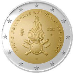 Национальная пожарная охрана 2 евро Италия 2020