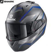 Мотошлем Shark Evo Es Yari, Синий матовый