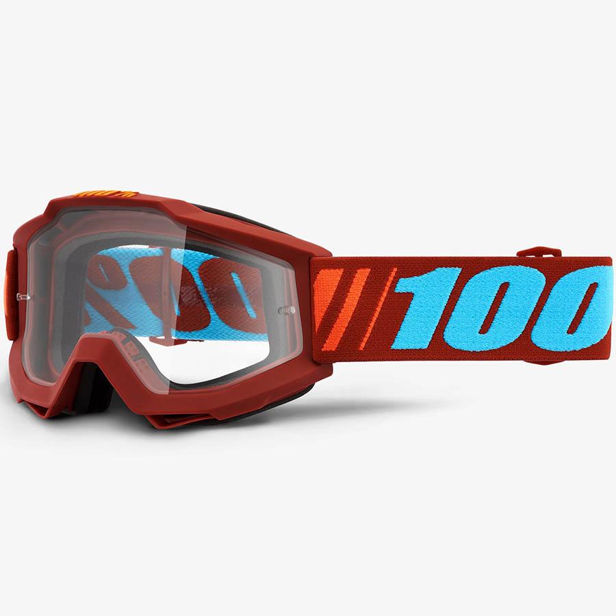100% Accuri Dauphine Clear Lens, очки для мотокросса