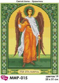 МосМара ММР-015 Ангел-Хранитель схема для вышивки бисером купить оптом в магазине Золотая Игла
