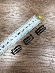 Черный Крючок для бюстгальтера 18 мм