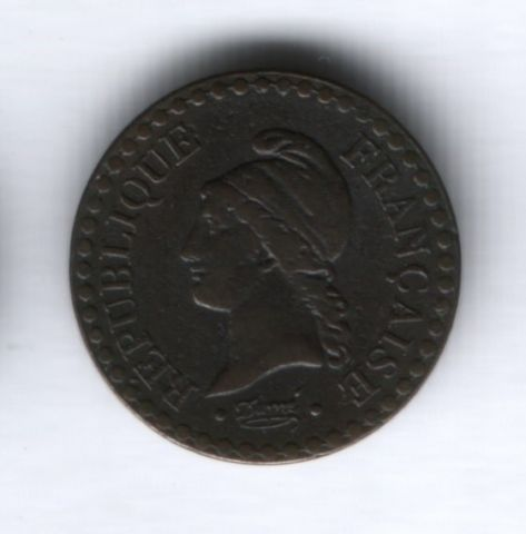 1 сантим 1848 года Франция