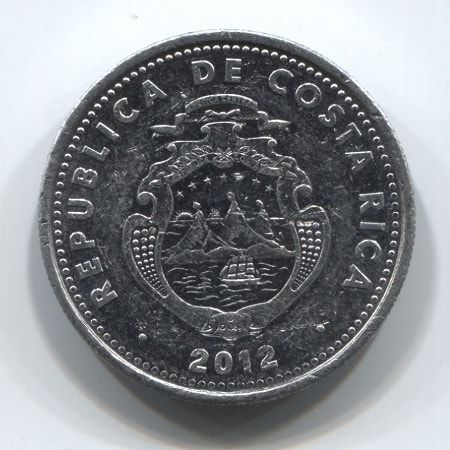 10 колонов 2012 года Коста-Рика