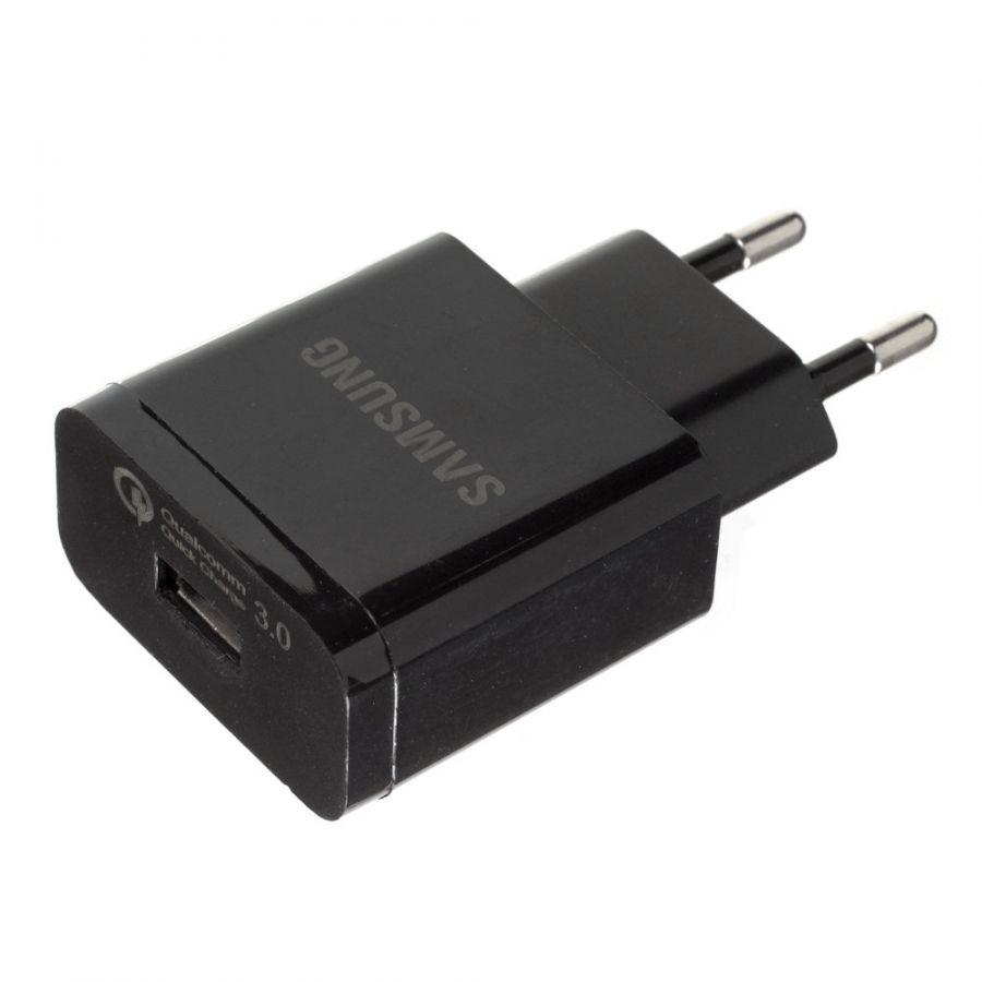 Сетевое зарядное устройство OL-515 (1xUSB, Black)