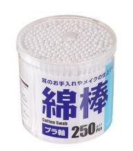 Ватные палочки белые, 250шт