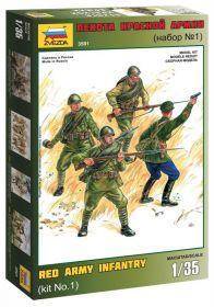 3501 Пехота Красной Армии (набор №1)