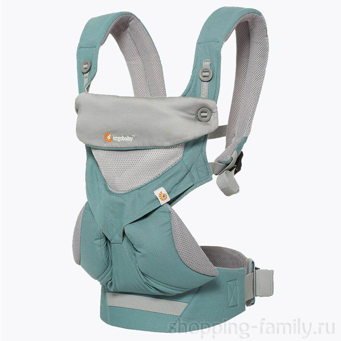 Эрго рюкзак Ergobaby 360 Cool Air baby carrier, Цвет Мятный