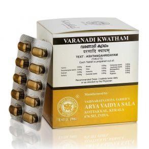 Варанади Кватхам, 100 таб, Коттаккал Аюрведа, Varanadi Kwatham, 100 tabs