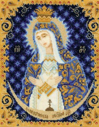 Набор для вышивания крестом Богоматерь Остробрамская №1299 фирма Риолис