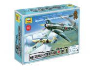Мессершмитт Bf-109 против Як-3