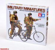 Английский военный патруль на велосипедах ( две фигуры) Новинка!!!