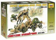 3584 Советские пулеметчики 1943-1945