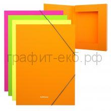 Папка-бокс А4 3см ErichKrause Glance Neon ассорти 43056