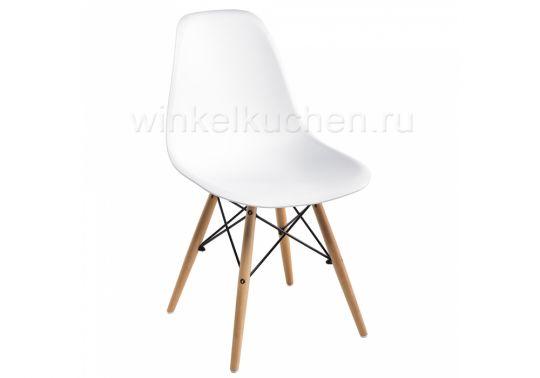Стул деревянный Eames PC-015 white