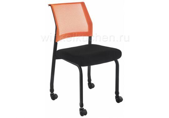 Стул Zola черный / оранжевый